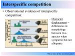 interspecific competition10