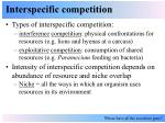interspecific competition5