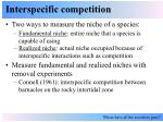 interspecific competition6