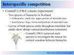 interspecific competition7
