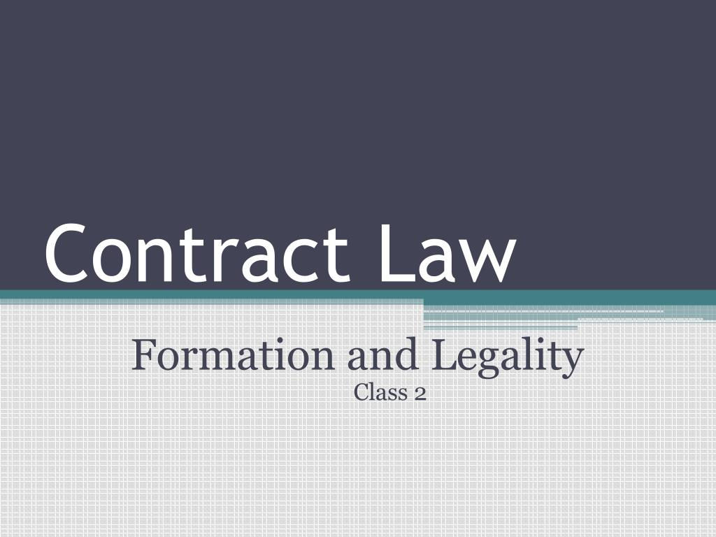 contract law l.