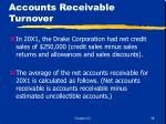 accounts receivable turnover38