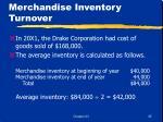 merchandise inventory turnover45