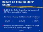 return on stockholders equity69