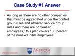 case study 1 answer