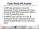 case study 4 answer