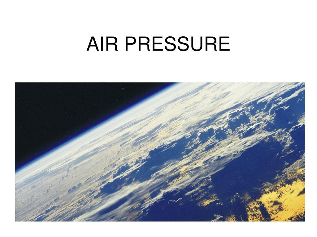 air pressure l.
