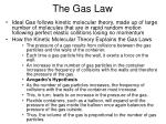 the gas law