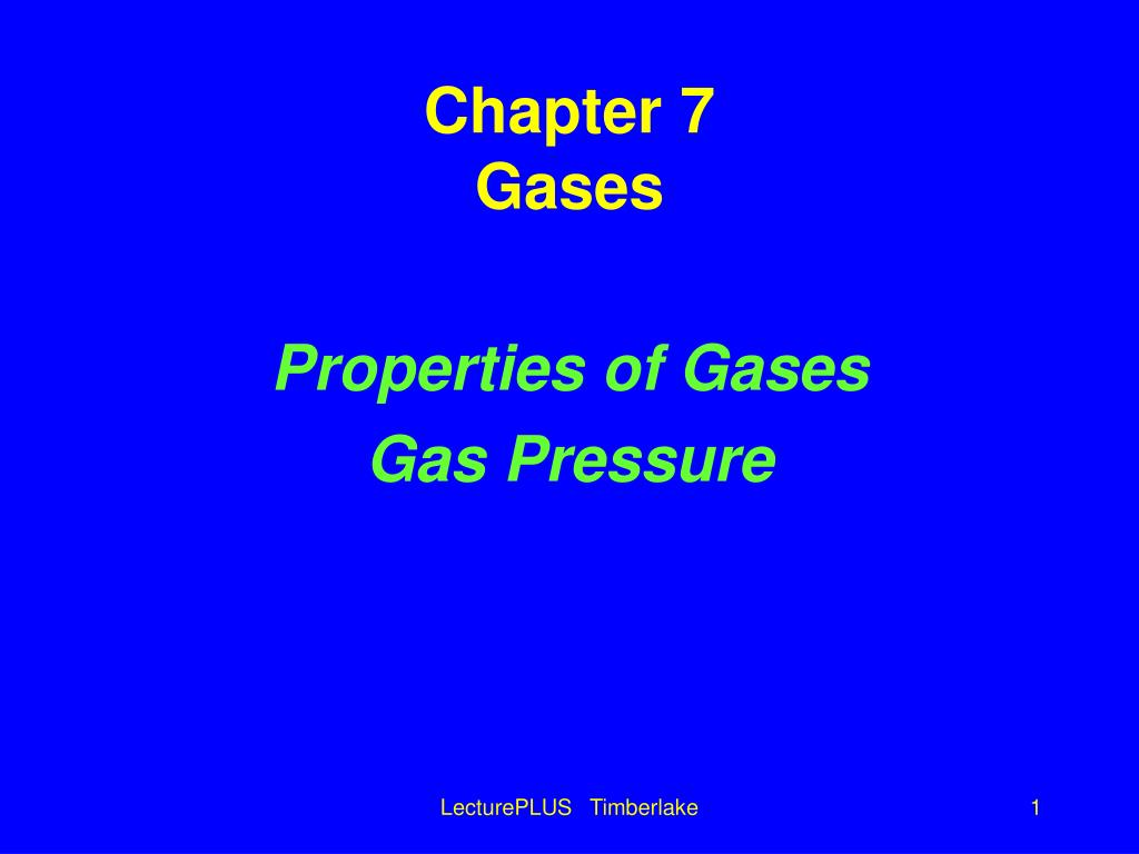 chapter 7 gases l.