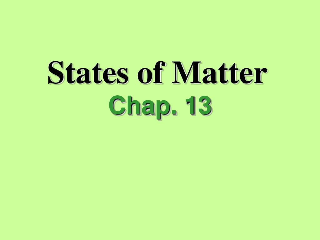 states of matter l.