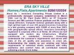 era sky ville homes flats apartments 92661555542