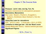 chapter 5 the gaseous state