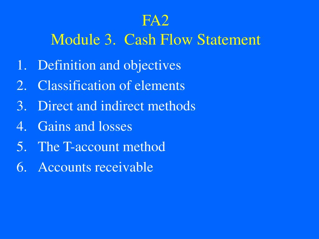 fa2 module 3 cash flow statement l.