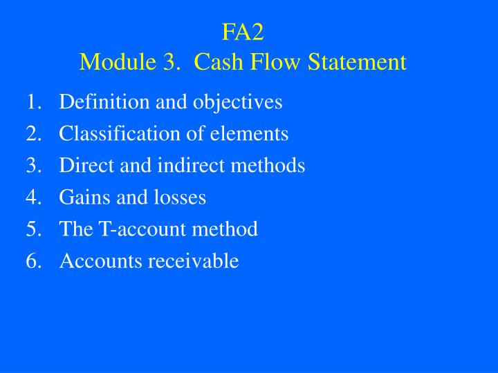 fa2 module 3 cash flow statement n.