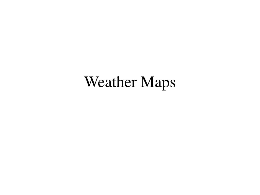 weather maps l.