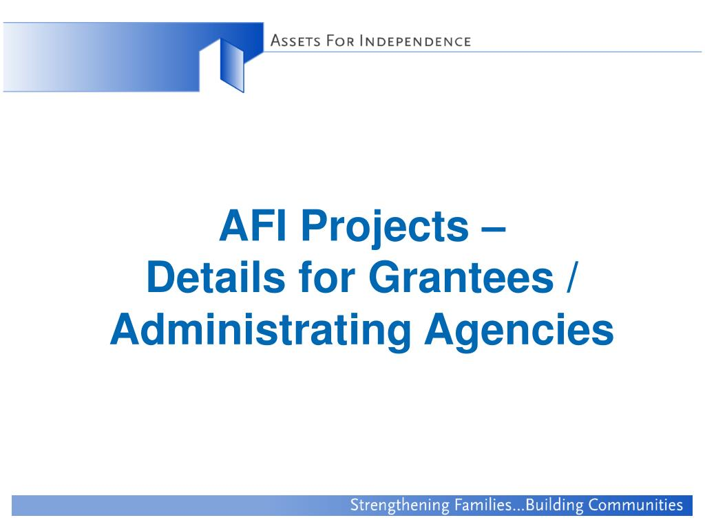 AFI Projects –