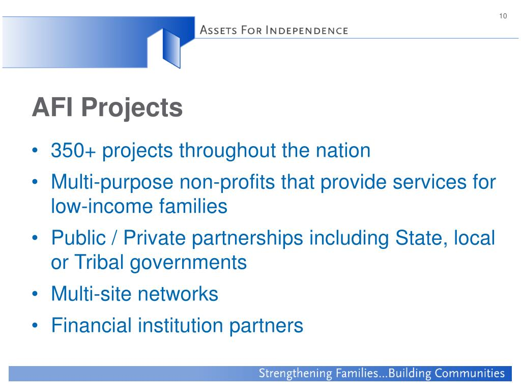 AFI Projects