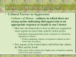 causes of human aggression18