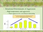 causes of human aggression24