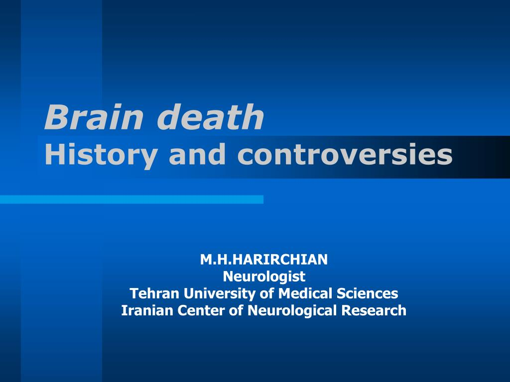 brain death history and controversies l.