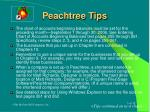 peachtree tips
