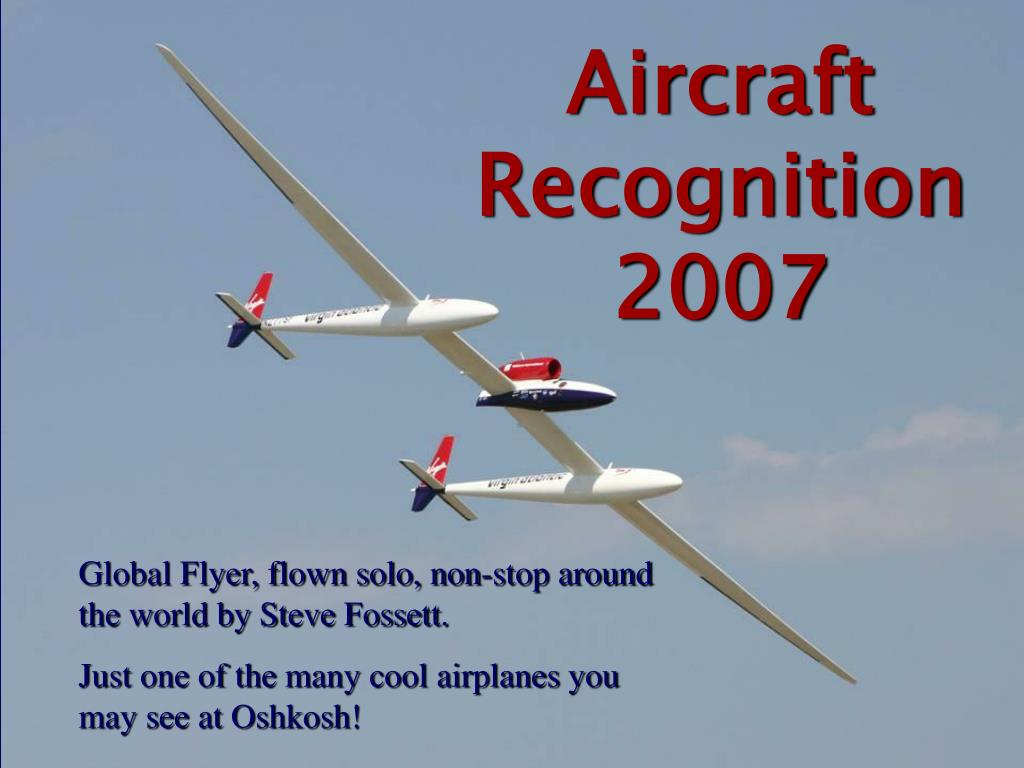 aircraft recognition 2007 l.