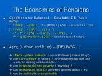 the economics of pensions