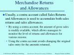 merchandise returns and allowances2