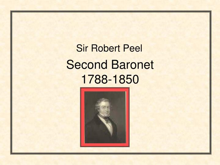 the impact of statesmanship character of sir robert peel on his political career Scopri sir robert peel as a type of statesmanship di jelinger symons: spedizione gratuita per i clienti prime e per ordini a partire da 29€ spediti da amazon.