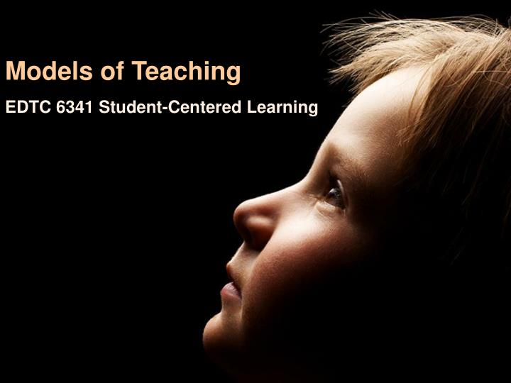 models of teaching n.