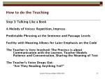 how to do the teaching27