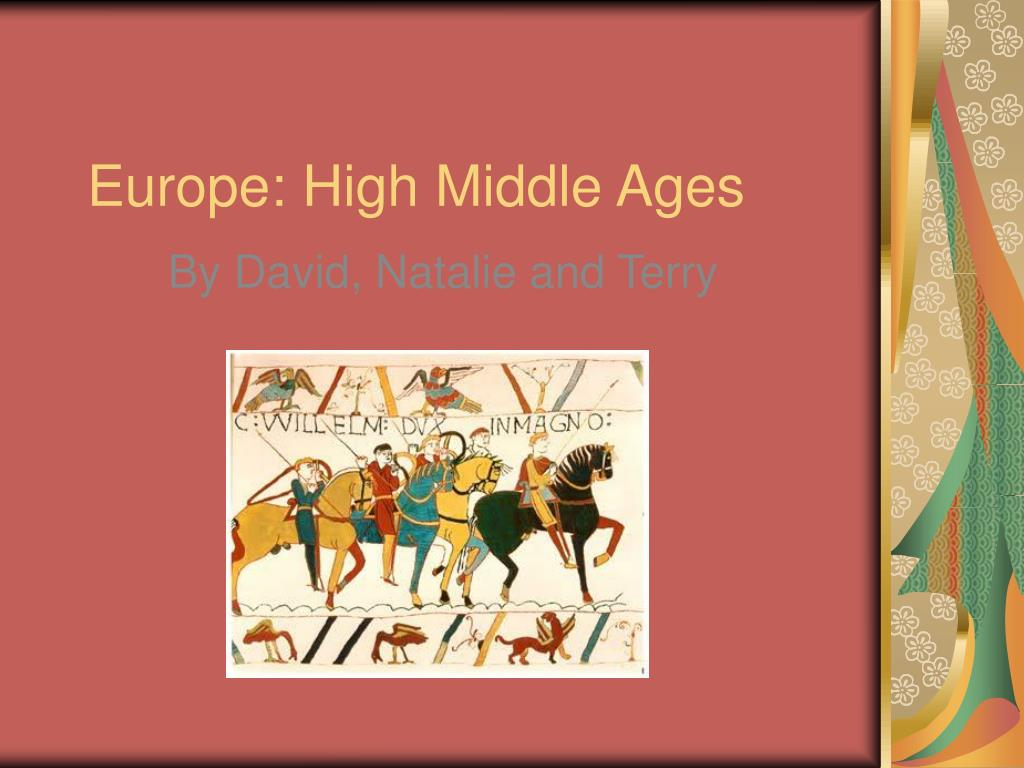 europe high middle ages l.