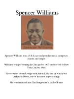 spencer williams