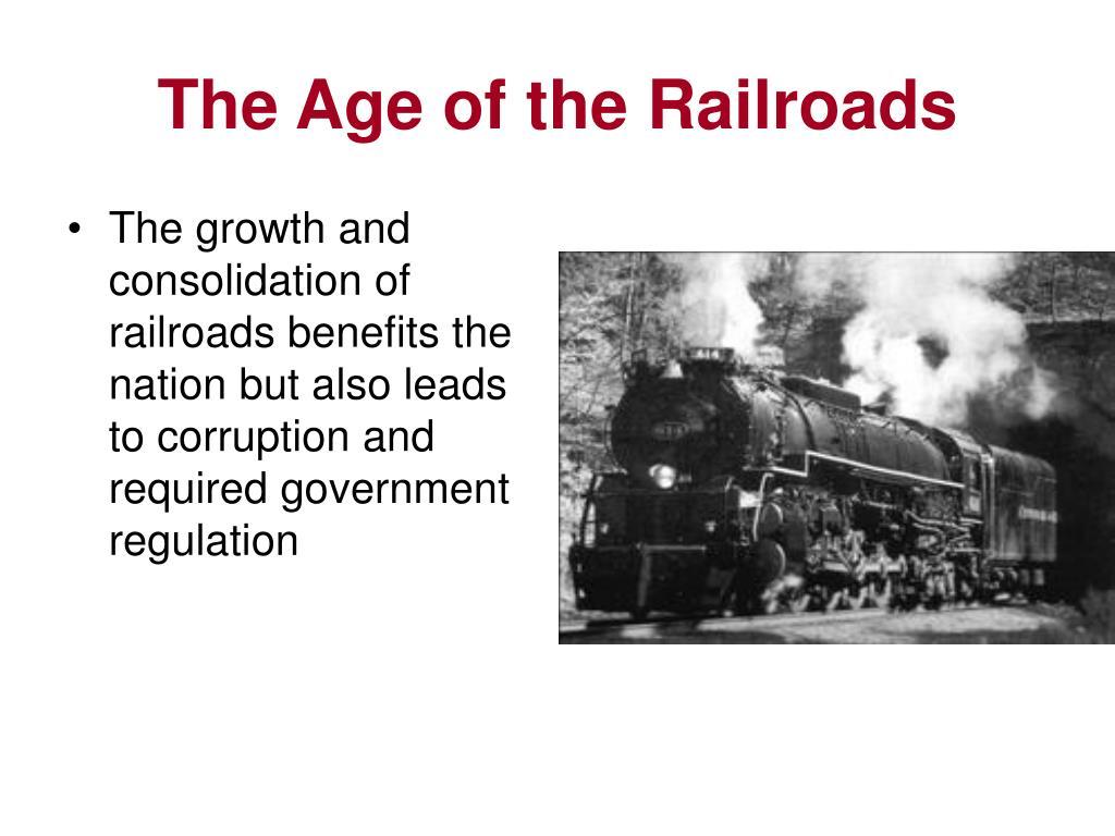 the age of the railroads l.