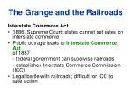 the grange and the railroads7
