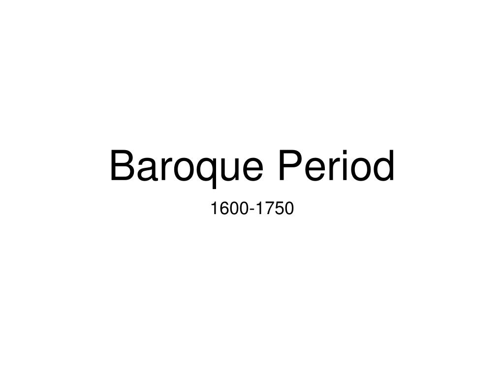baroque period l.
