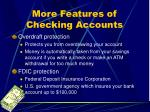more features of checking accounts11