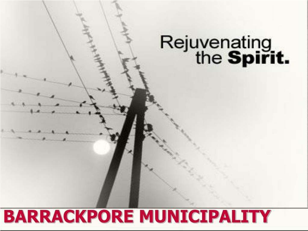 barrackpore municipality l.