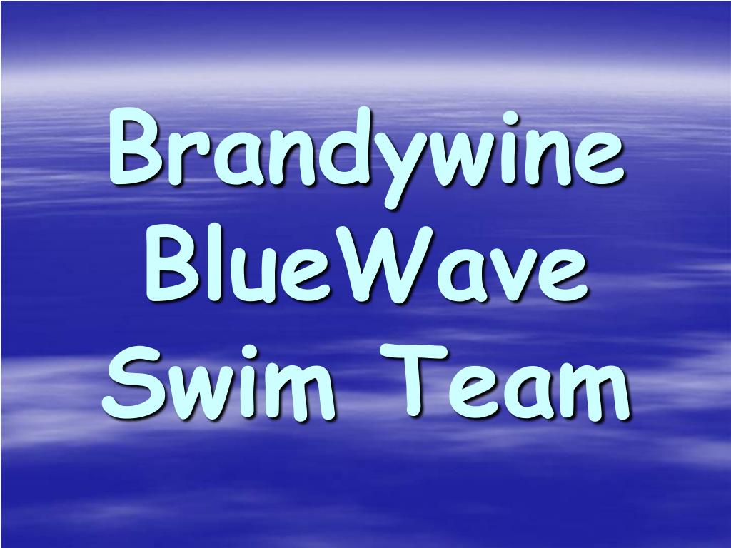 brandywine bluewave swim team l.