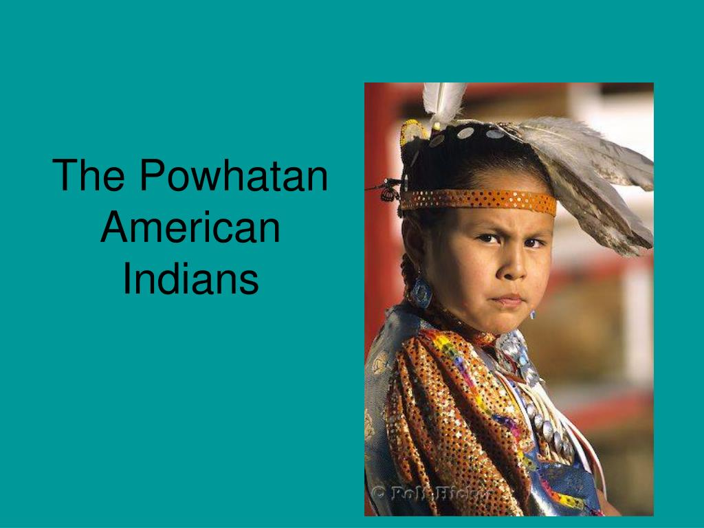 the powhatan american indians l.