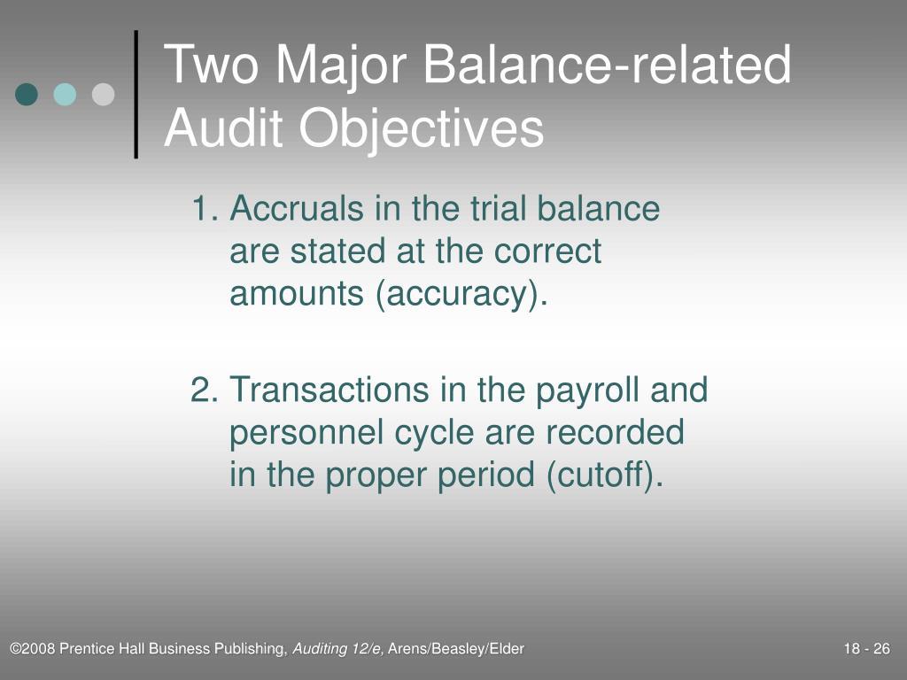 Two Major Balance-related