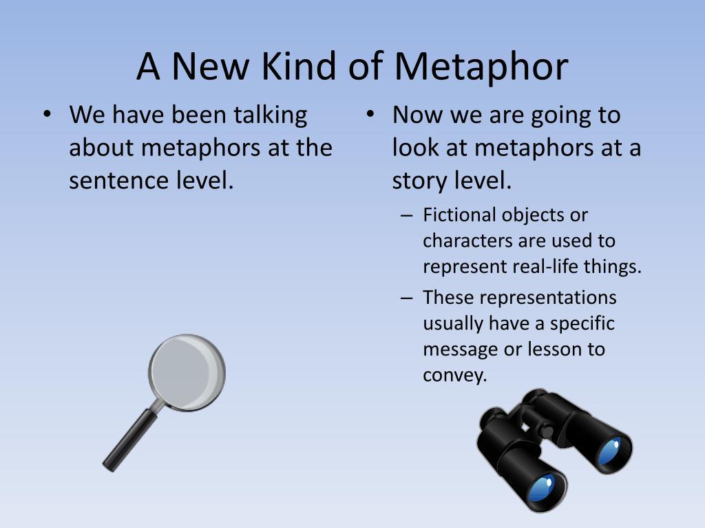 A New Kind of Metaphor