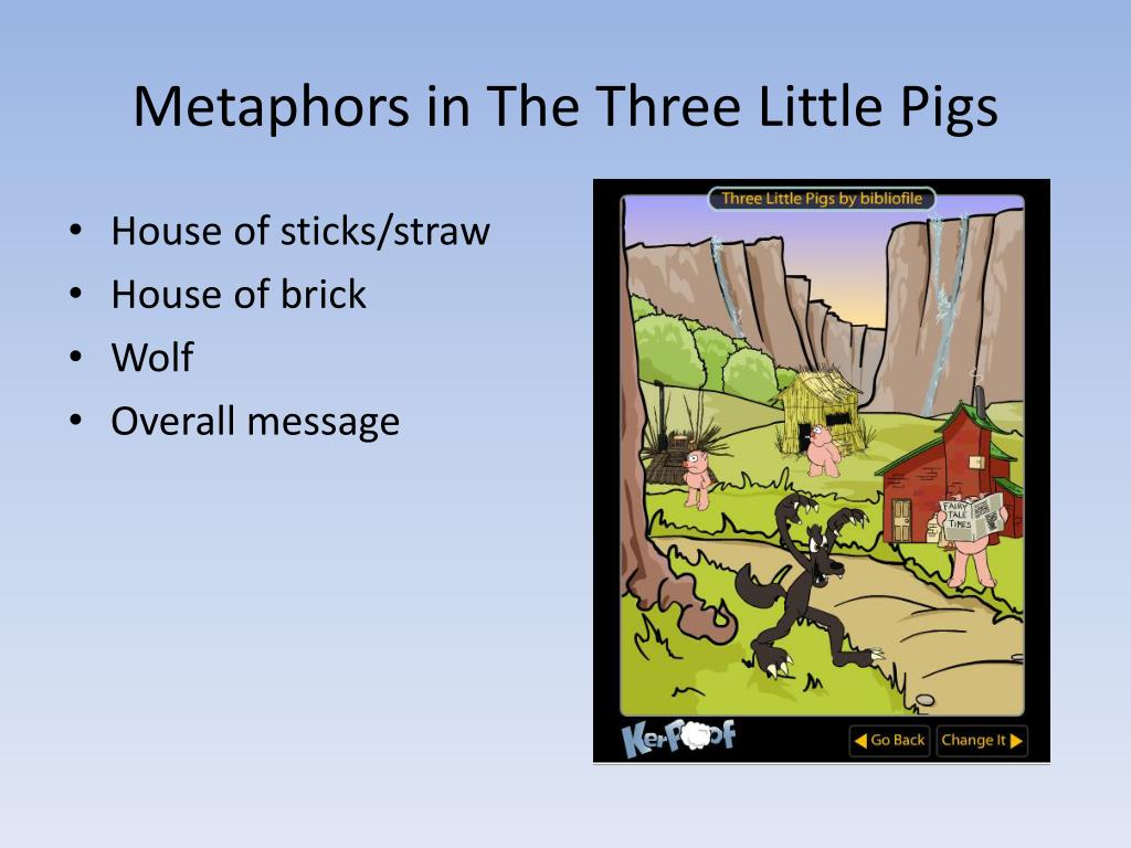 Metaphors in The Three Little Pigs