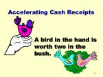 accelerating cash receipts51