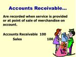 accounts receivable12