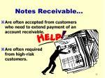 notes receivable32