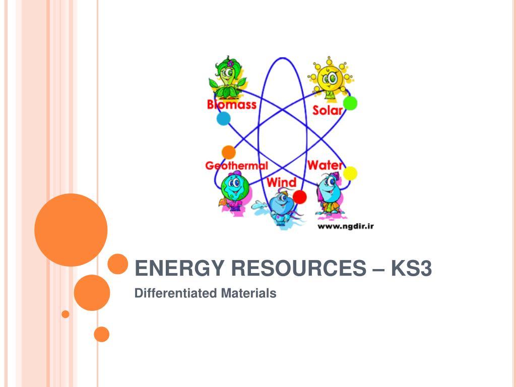 energy resources ks3 l.