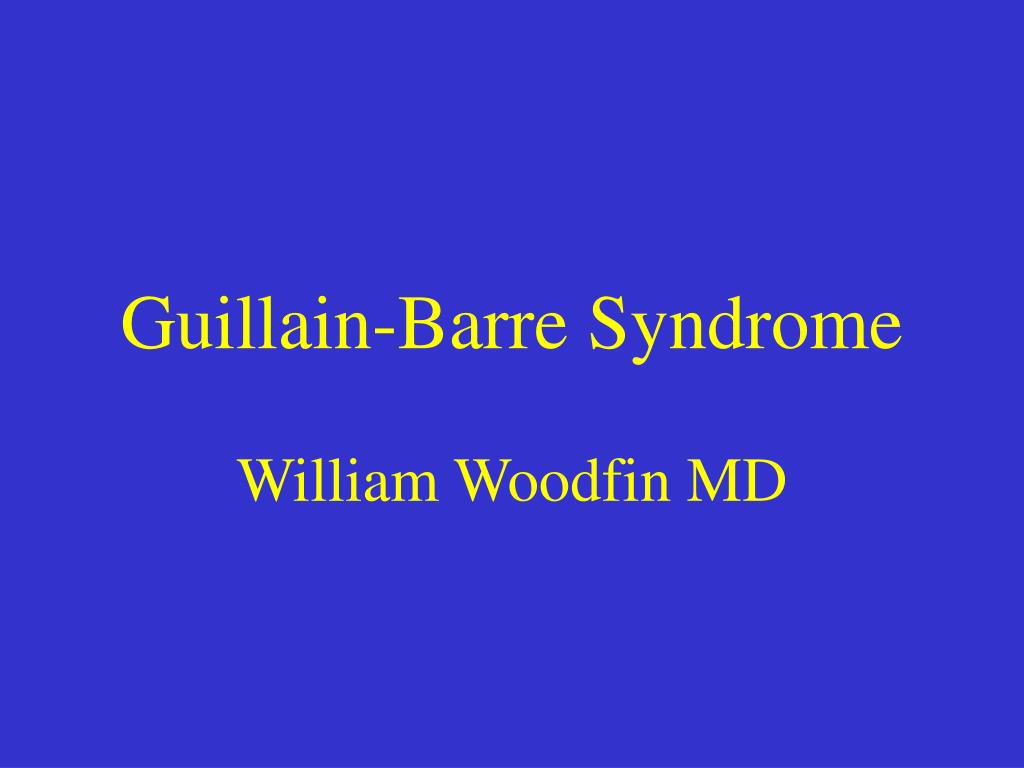 guillain barre syndrome l.