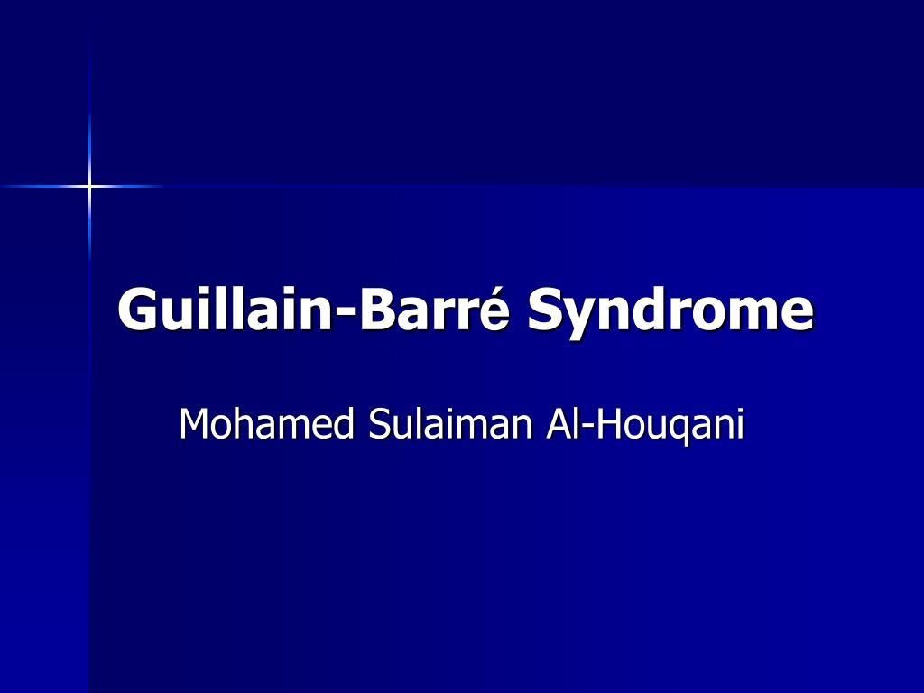guillain barr syndrome l.
