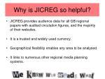 why is jicreg so helpful